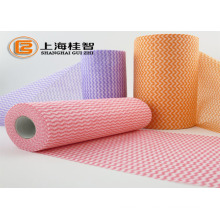 Household cleaning products multi-purpose super absorbent nonwoven fabric wipe /duster cleaning cloth